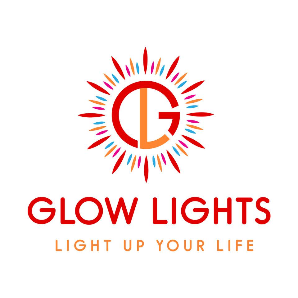 glows light